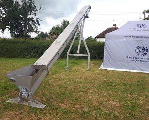 sand separation systems manure auger